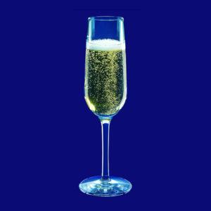 Plastová sklenička na šampaňské l
