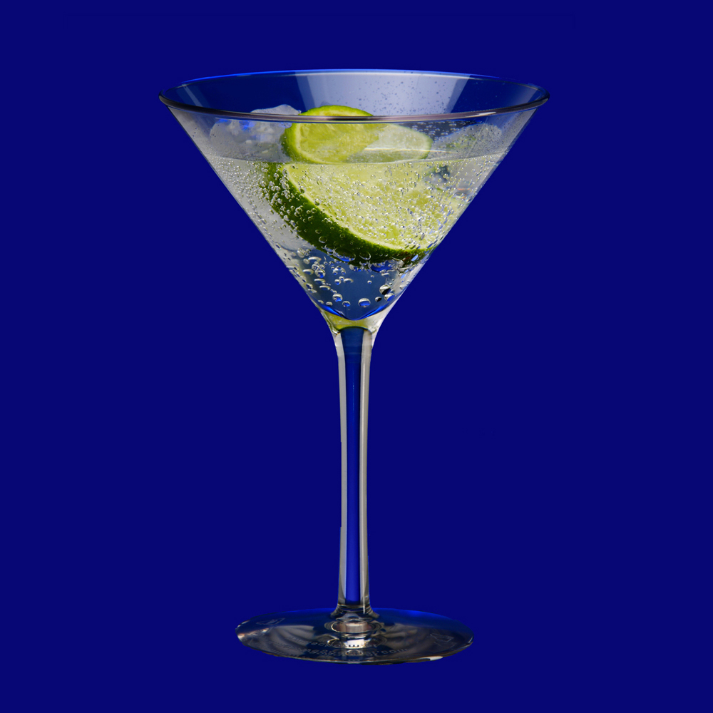 Plastová martini sklenička l SAN