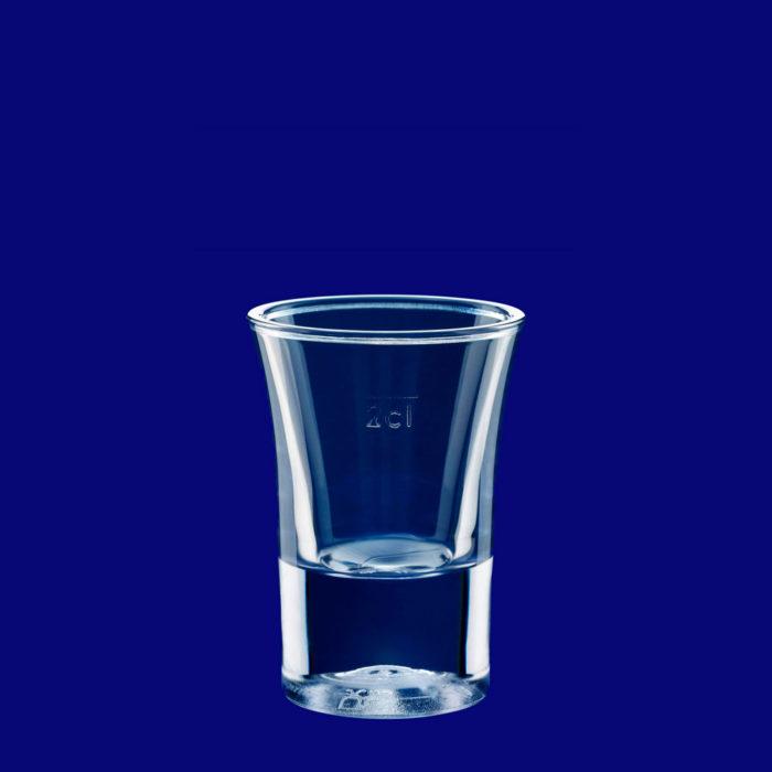 Plastový kelímek štamprle cl SAN