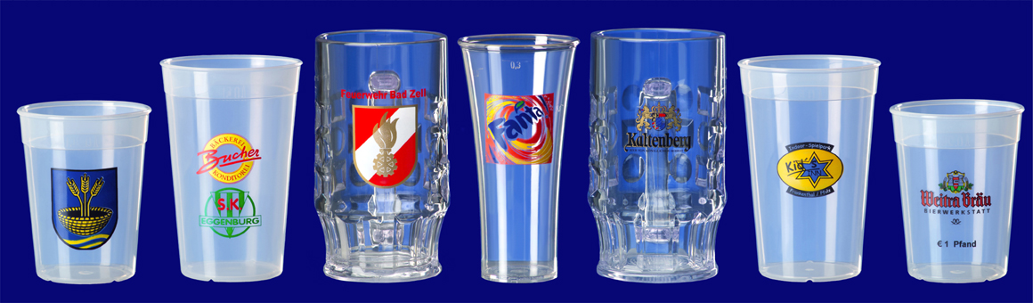 Plastový pohár s potlačou