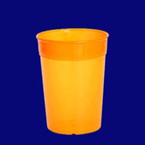 Vratný kelímek l PP barevný oranžový