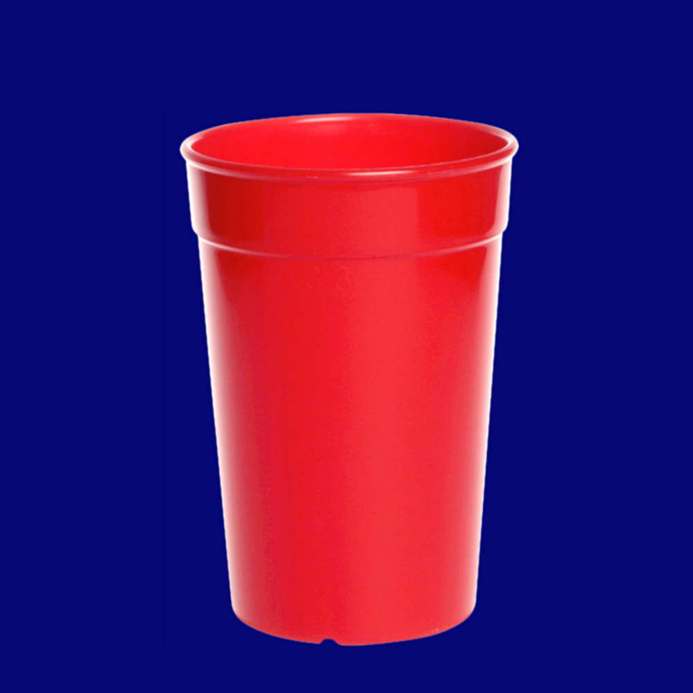 Vratný kelímek l PP barevný červený