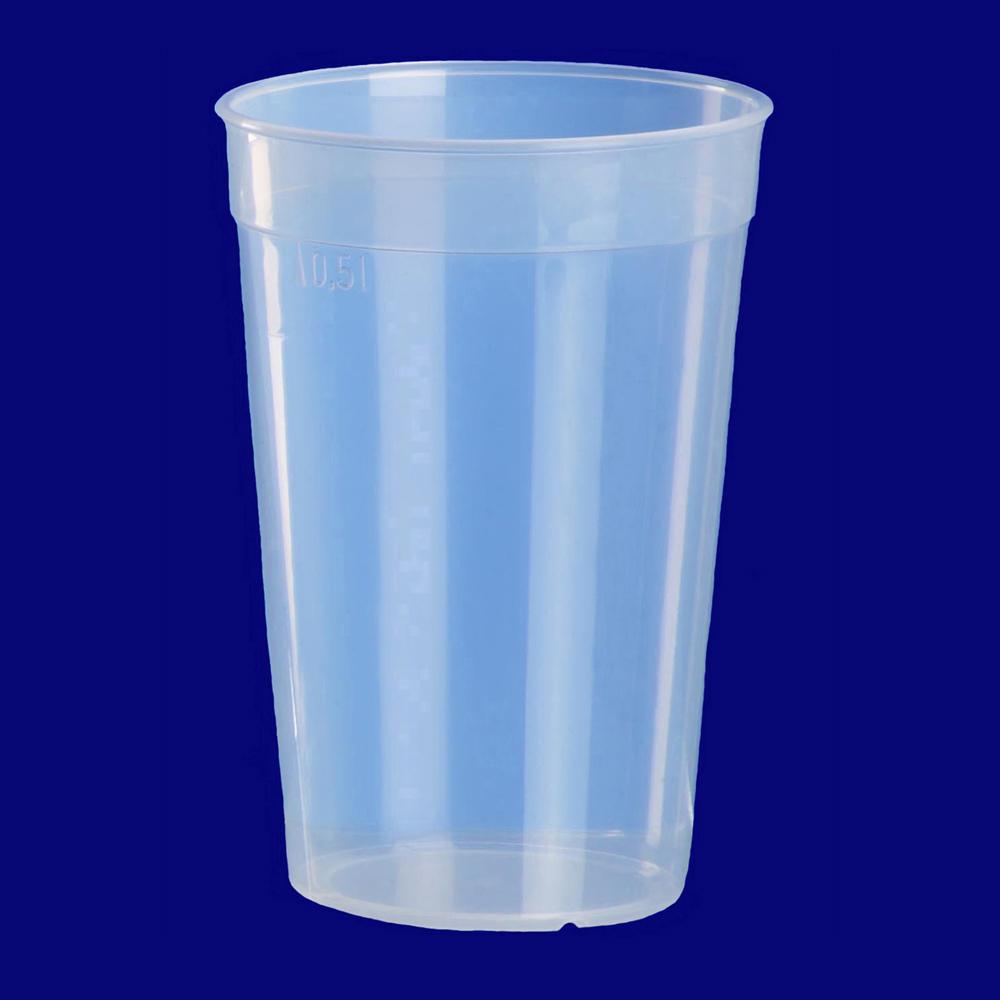Vratný pohár transparetný