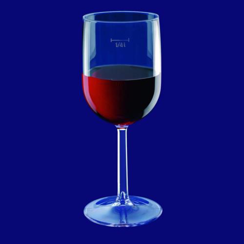 Plastová sklenička na víno l a l SAN