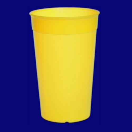 Vratný kelímek 0,5l PP barevný žlutý-9033-1